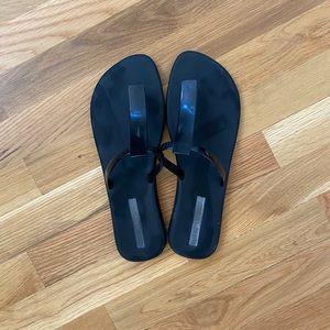 Melissa Black Jelly Sandals